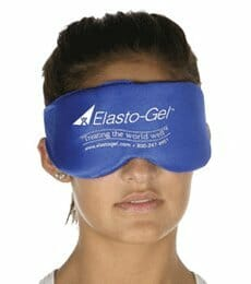hot compress for dry eyes