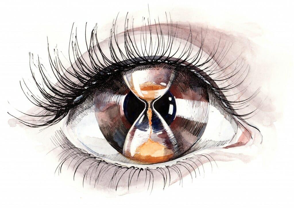 Aging Dry Eyes