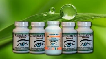 TheraLife Chronic Dry Eye Bundle One Month– 4 Bottles + 1 Fish Oil