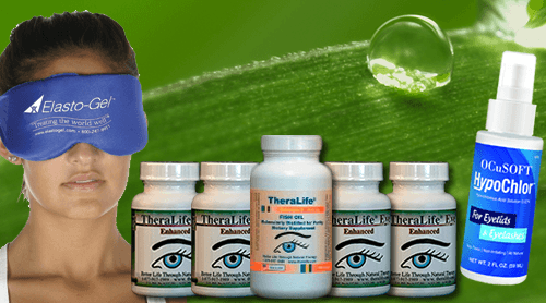 TheralIfe Dry Eye One Month Starter Kit -Blepharitis/MGD.