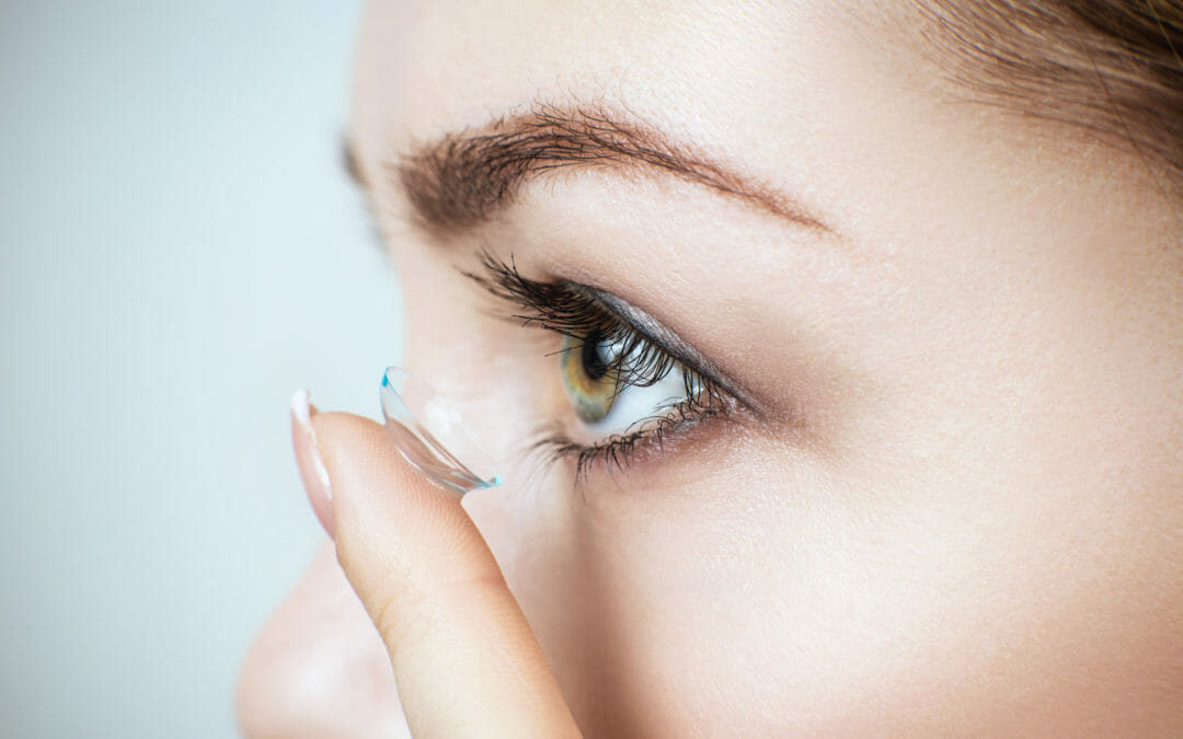 Can I wear contact lenses when I have dry eyes?