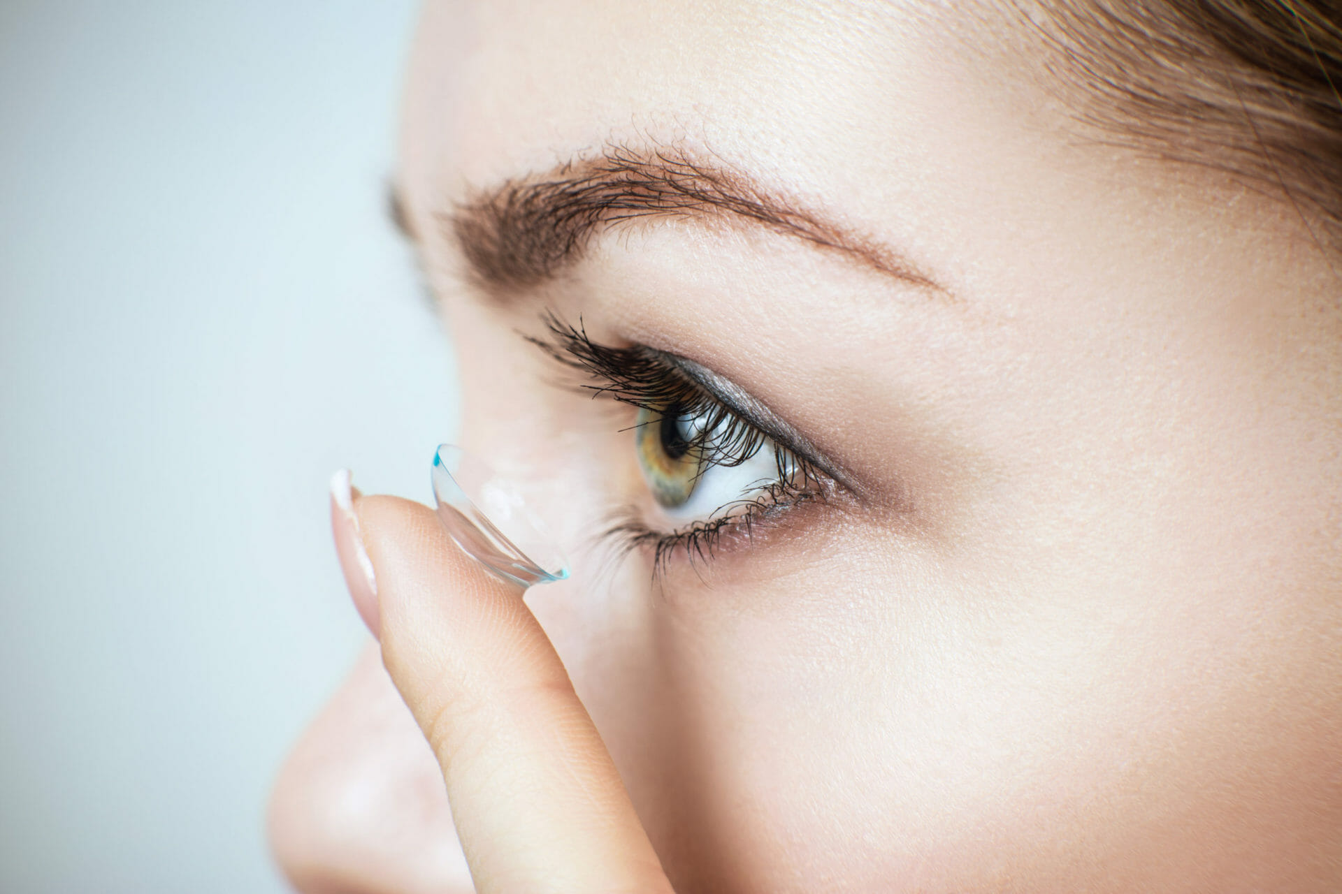 contact lens dry eyes